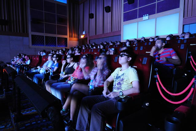 5D film experience