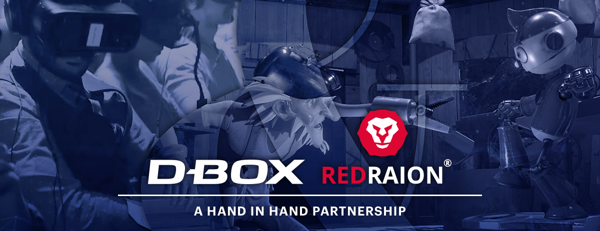 Partnership Announcement DBOX - Red Raion
