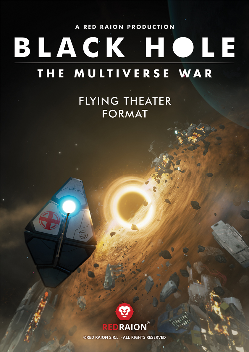 Black Hole - The Multiverse War - Poster - Flying Theater Movie
