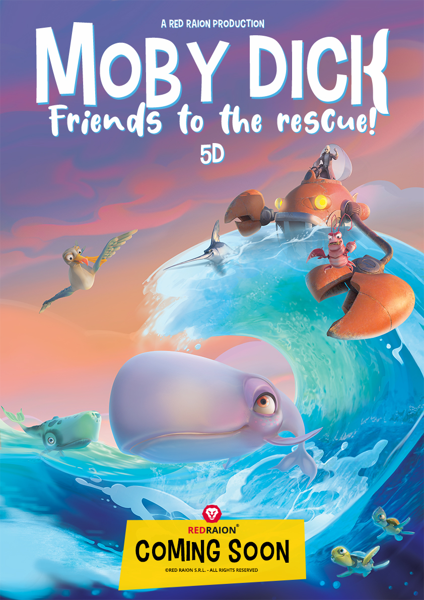 Moby Dick - Friends to the rescue! 5D